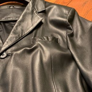 Jones New York Suits & Blazers - Men's leather blazer